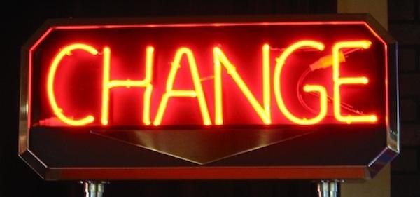 "Change"" by Felix Burton (CC-BY) http://goo.gl/VFSB5h"